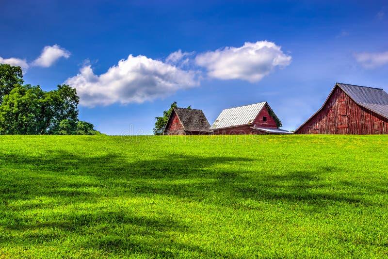 Το αγρόκτημα στοκ φωτογραφίες
