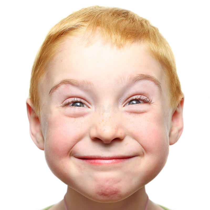 το αγόρι ευτυχές απομόνωσε λίγα στοκ φωτογραφίες