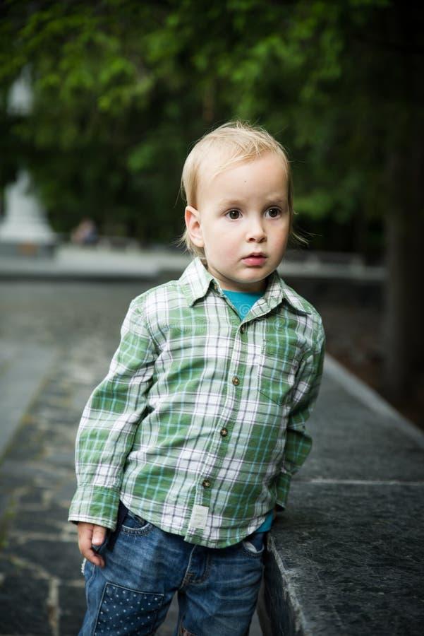 Το αγόρι μικρών παιδιών στοκ εικόνες