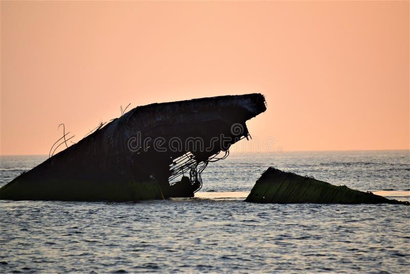 Το ακρωτήριο παραλιών ηλιοβασιλέματος μπορεί, Νιου Τζέρσεϋ στοκ εικόνα