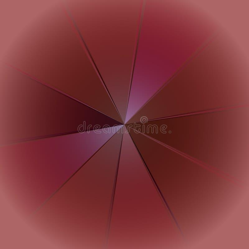 Το ακτινωτό χάσμα διανυσματική απεικόνιση