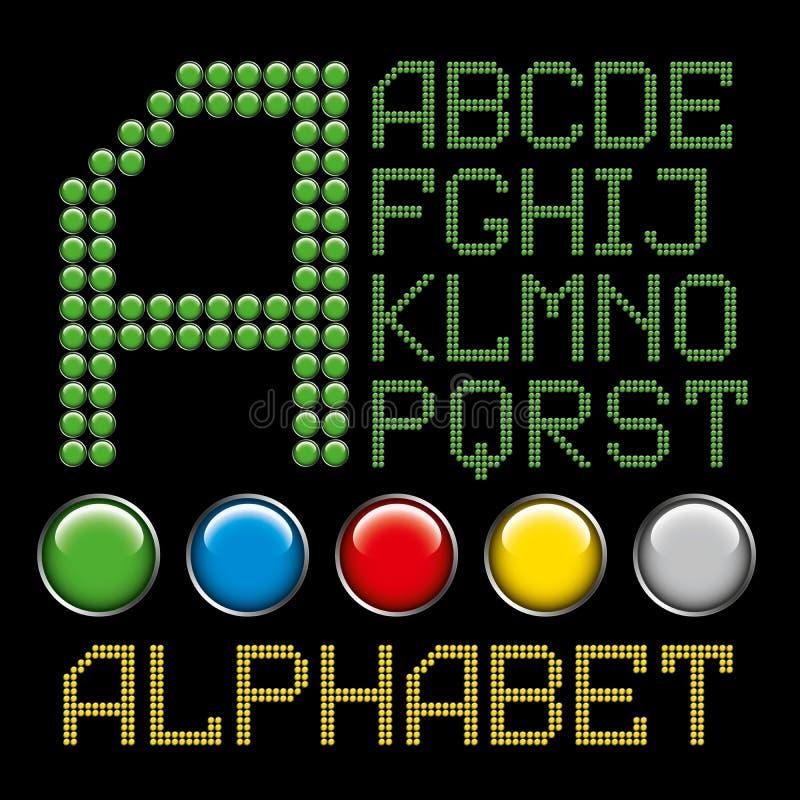 το αλφάβητο κουμπώνει τι&si απεικόνιση αποθεμάτων