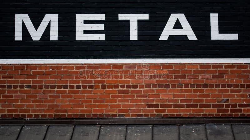 Το αμερικανικό μέταλλο υποστηρίζει την τοπική βιομηχανία σε νότιο Appalachia στοκ φωτογραφία