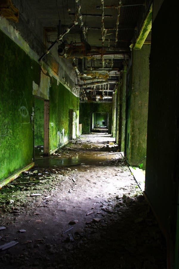 Το ανατριχιαστικό ξενοδοχείο στις Αζόρες, όνομα είναι παλάτι Monte στοκ φωτογραφίες