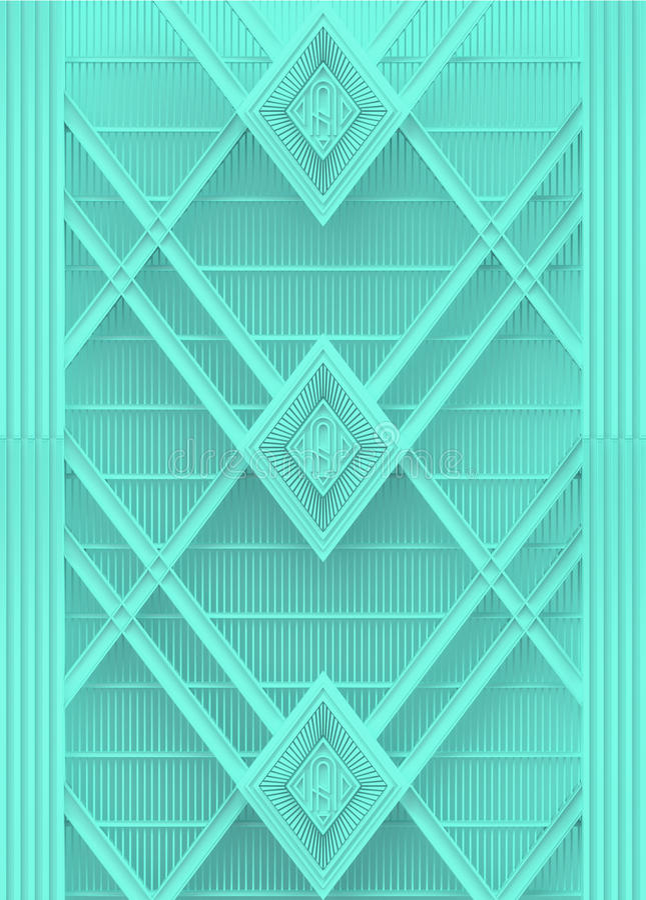 το ανοικτό μπλε πλαστικό υπόβαθρο deco τέχνης τοίχων δίνει διανυσματική απεικόνιση