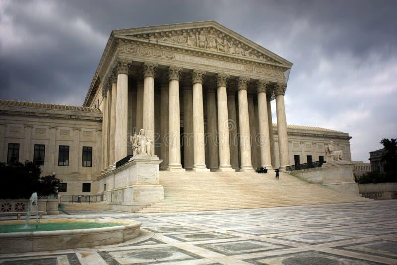 το ανώτατο u δικαστηρίων s στοκ εικόνα