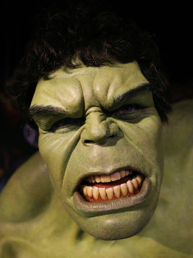 Το απίστευτο Hulk πορτρέτο στοκ εικόνες με δικαίωμα ελεύθερης χρήσης
