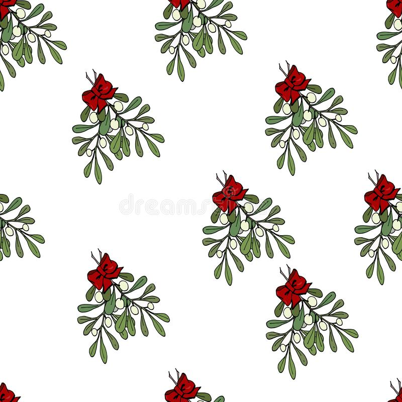 Το απλό σχέδιο Χριστουγέννων διανυσματική απεικόνιση