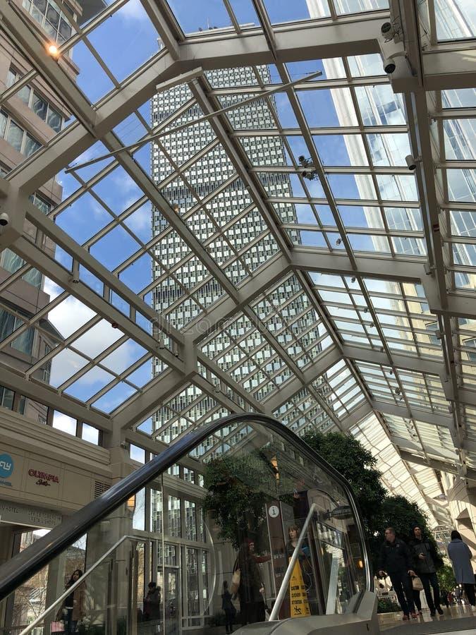 Το απόγευμα της Κυριακής στο συνετό κέντρο, Βοστώνη στοκ εικόνες με δικαίωμα ελεύθερης χρήσης