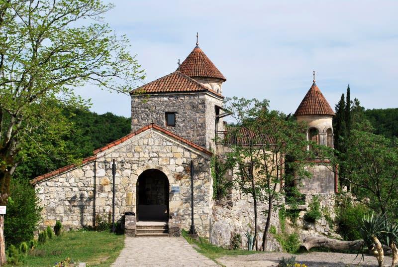 Το αρχαίο μοναστήρι Motsameta στοκ εικόνα