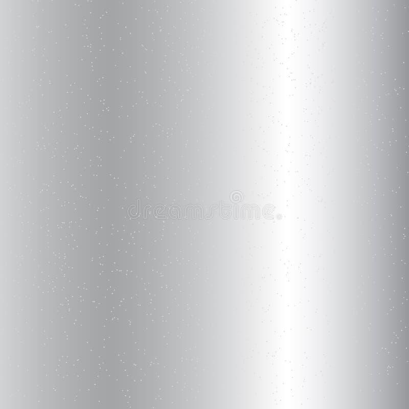 Το ασημένιο μεταλλικό υπόβαθρο κλίσης και γκρίζος ακτινοβολεί σύσταση Εορταστικό ύφος πολυτέλειας glittery σπινθηρίσματος διανυσματική απεικόνιση