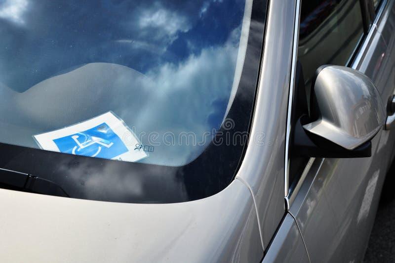 Το αυτοκίνητο για θέτει εκτός λειτουργίας τον οδηγό στοκ φωτογραφία με δικαίωμα ελεύθερης χρήσης