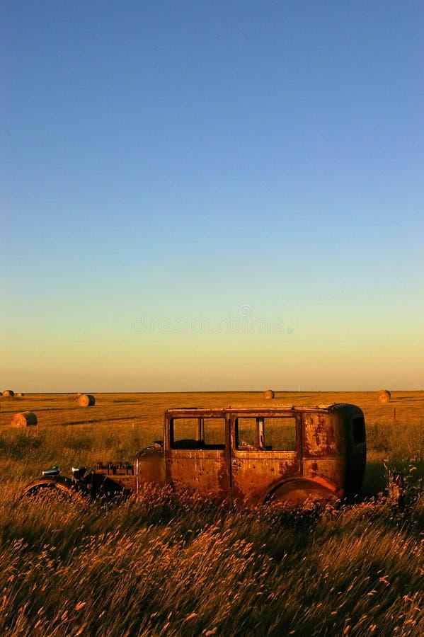 Το αυτοκίνητο λιβαδιών στοκ φωτογραφίες