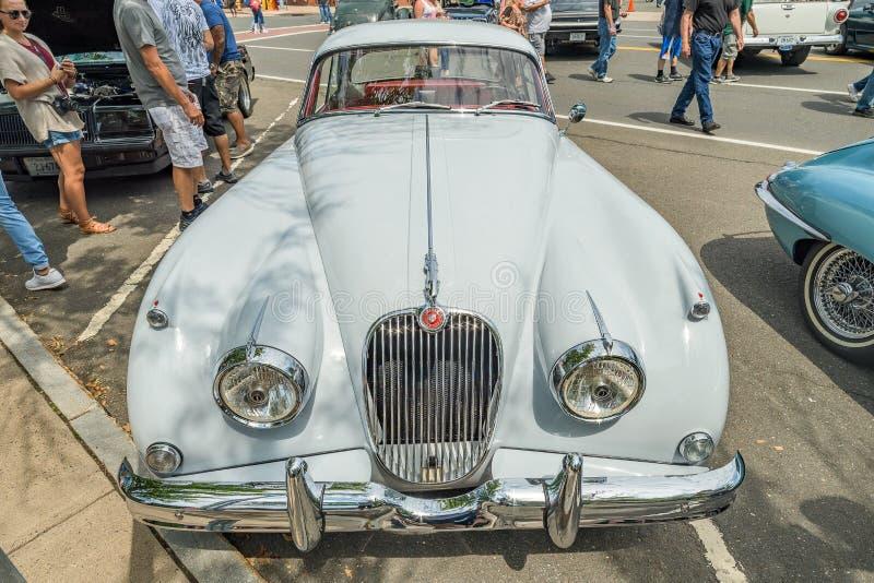 Το αυτοκίνητο παρουσιάζει στο Μάντσεστερ Κοννέκτικατ στοκ εικόνα με δικαίωμα ελεύθερης χρήσης