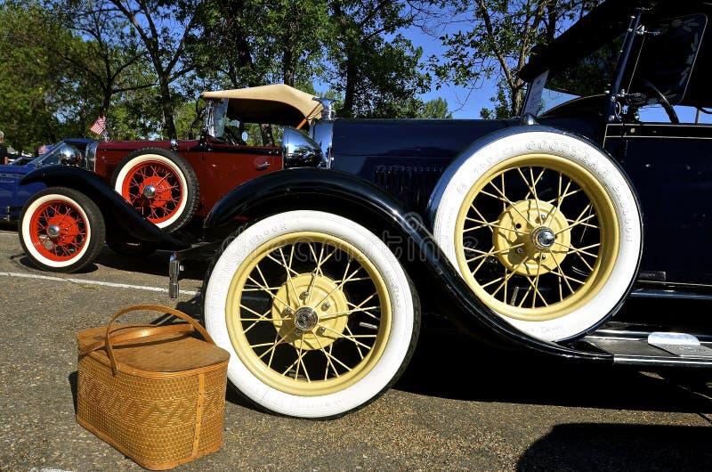 1929 το αυτοκίνητο της Ford στο αυτοκίνητο του Βίσμαρκ παρουσιάζει στοκ φωτογραφία με δικαίωμα ελεύθερης χρήσης