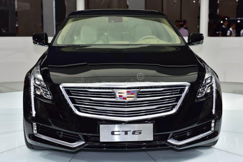 Το αυτοκίνητο Cadillac CT6 στοκ φωτογραφία με δικαίωμα ελεύθερης χρήσης