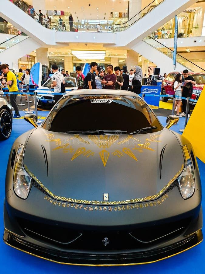 Το αυτοκίνητο EXPO, αυτοκίνητη έκθεση ονείρου της Μαλαισίας κράτησε στο περίπτερο Κουάλα Λουμπούρ σε Bukit Bintang στοκ φωτογραφίες με δικαίωμα ελεύθερης χρήσης