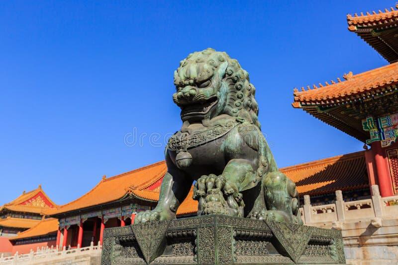 Το αυτοκρατορικό μουσείο παλατιών, Πεκίνο, Κίνα στοκ φωτογραφίες με δικαίωμα ελεύθερης χρήσης