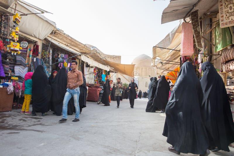Το αυτοκρατορικό Bazaar του Ισφαχάν, Ιράν στοκ εικόνες