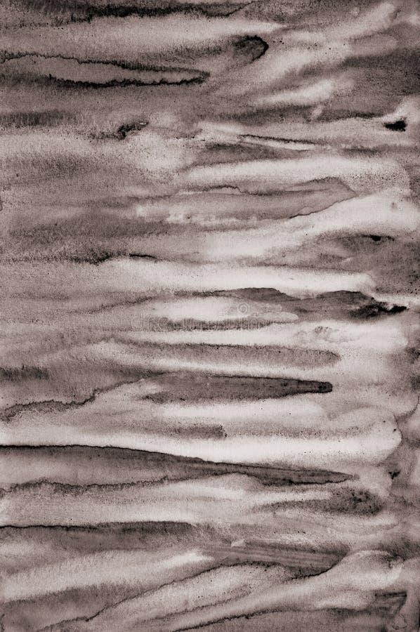 Το αφηρημένο watercolor στη σύσταση εγγράφου μπορεί να χρησιμοποιήσει ως υπόβαθρο Στο S στοκ εικόνες