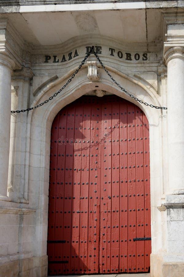 Το δαχτυλίδι πάλης ταύρων στη Σεβίλη, Ισπανία, Ευρώπη στοκ εικόνες