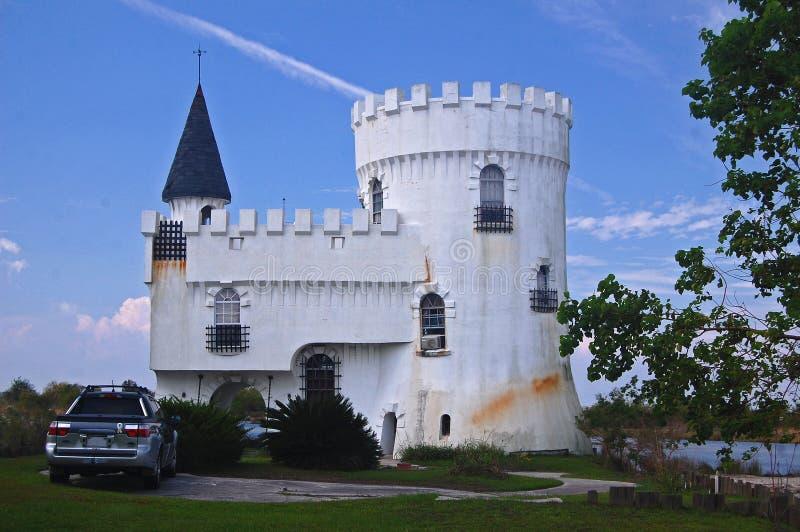 Το Α επανδρώνει το σπίτι είναι το κάστρο του στοκ φωτογραφία με δικαίωμα ελεύθερης χρήσης