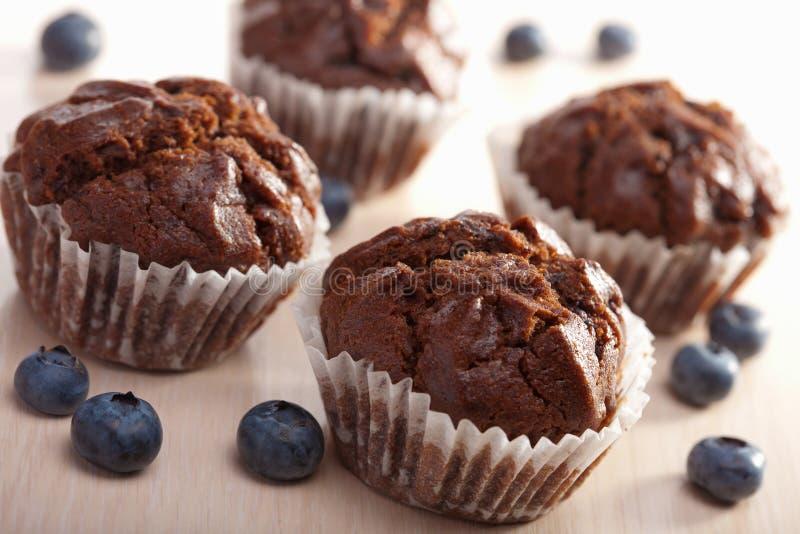το βακκίνιο muffins στοκ φωτογραφία