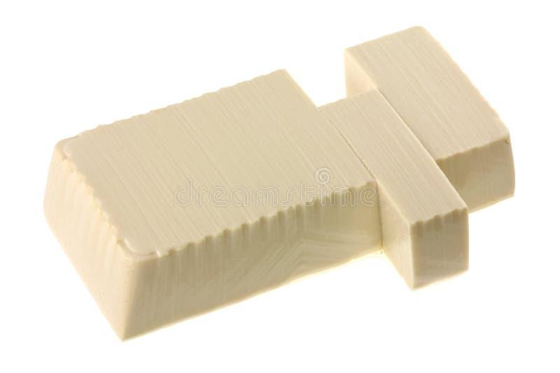 το βαμβάκι τα φρέσκα ιαπωνικά tofu στοκ εικόνα