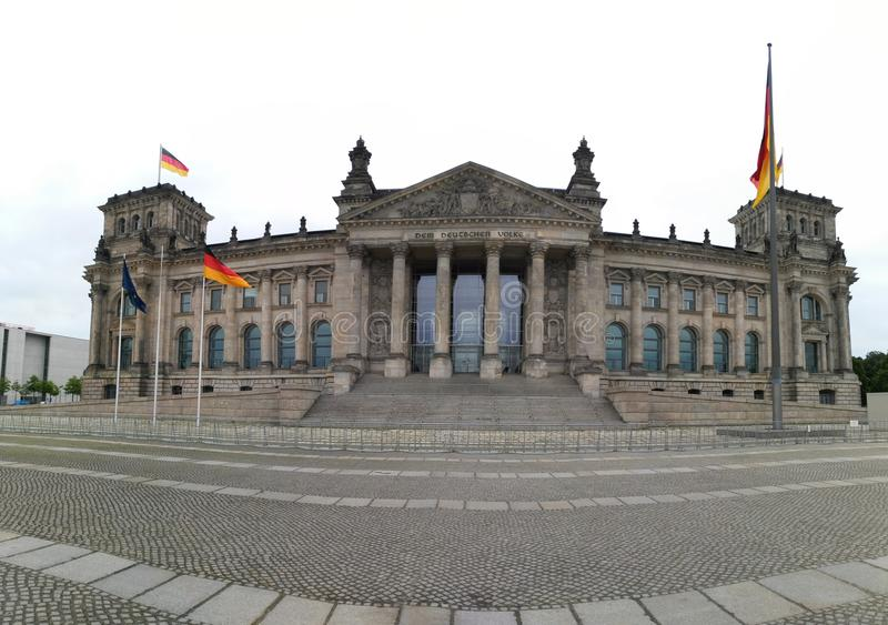 Το Βερολίνο Reichstag στοκ φωτογραφίες