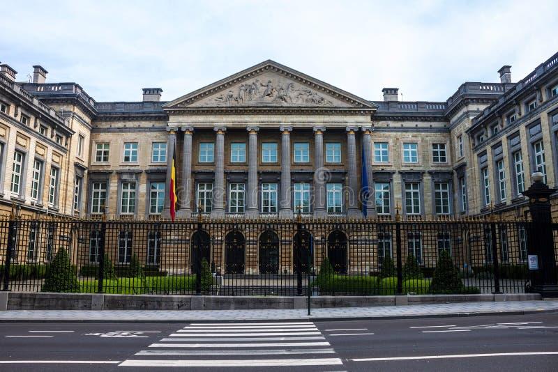 Το βελγικό ομοσπονδιακό Κοινοβούλιο στοκ εικόνες