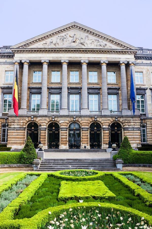Το βελγικό ομοσπονδιακό Κοινοβούλιο στοκ φωτογραφίες