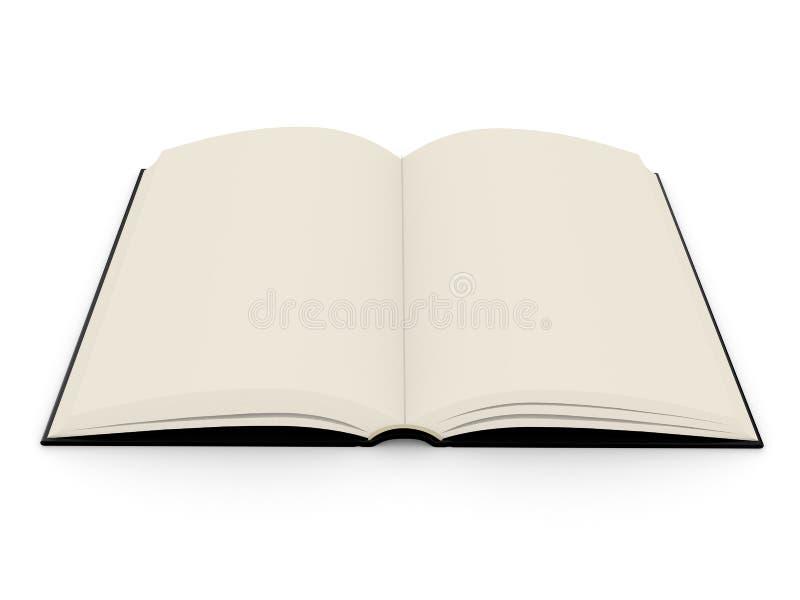το βιβλίο hardcover ανοίγει απεικόνιση αποθεμάτων