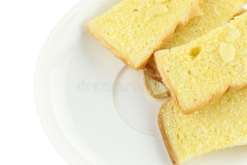 Το βούτυρο ψήνει το ψωμί στοκ φωτογραφία με δικαίωμα ελεύθερης χρήσης