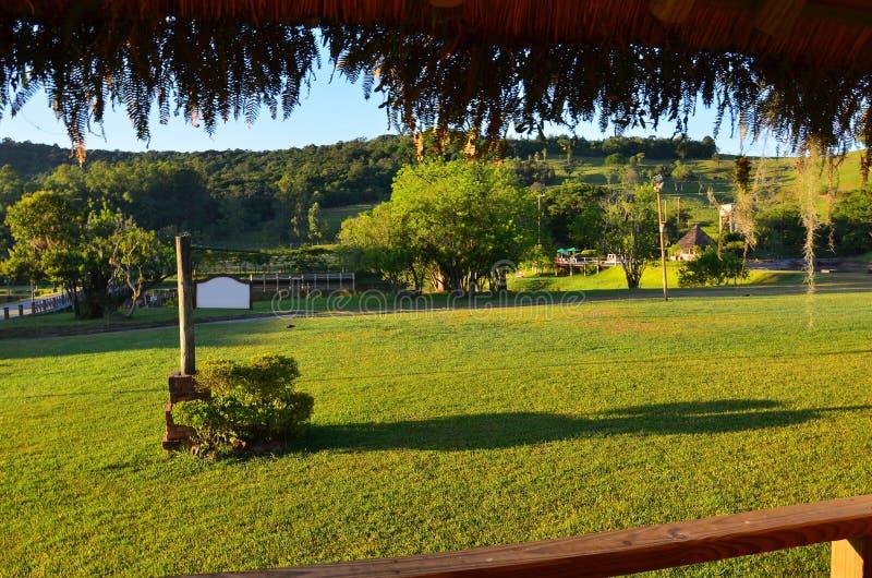 Το βραζιλιάνο hacienda, Rio Grande κάνει τη Sul στοκ φωτογραφίες με δικαίωμα ελεύθερης χρήσης