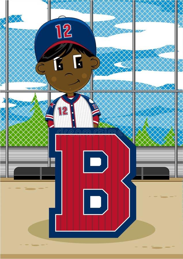 Το Β είναι για το μπέιζ-μπώλ απεικόνιση αποθεμάτων