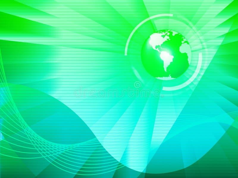 Το γήινο υπόβαθρο σημαίνει την παγκόσμια τεχνολογία ή τη μεταφορά σφαιρών ελεύθερη απεικόνιση δικαιώματος