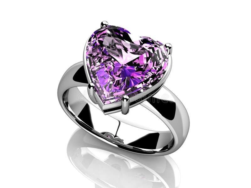 Το γαμήλιο δαχτυλίδι ομορφιάς ελεύθερη απεικόνιση δικαιώματος