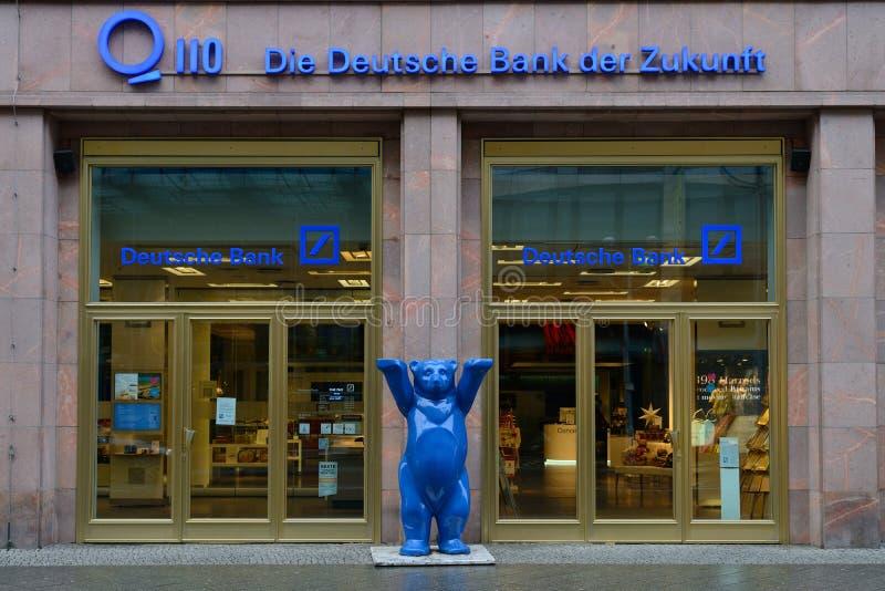 Το γερμανικό γραφείο τράπεζας (Deutsche Bank) στοκ εικόνα