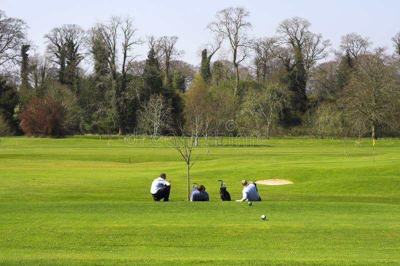 Download το γκολφ χαλαρώνει στοκ εικόνα. εικόνα από συνεργάτης - 2225747