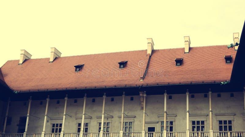 Το γοτθικό Wawel Castle στην Κρακοβία στην Πολωνία στοκ εικόνα