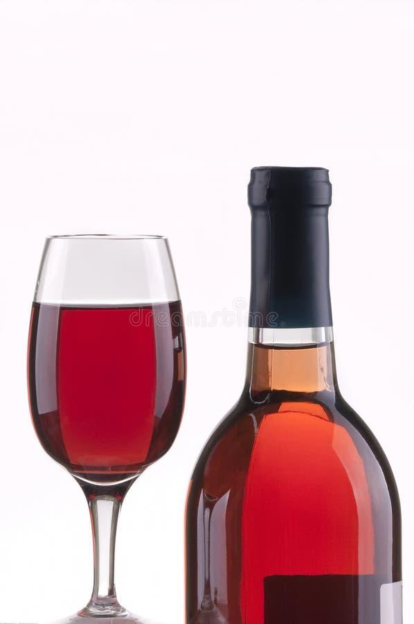 το γυαλί μπουκαλιών αυξή& στοκ εικόνα