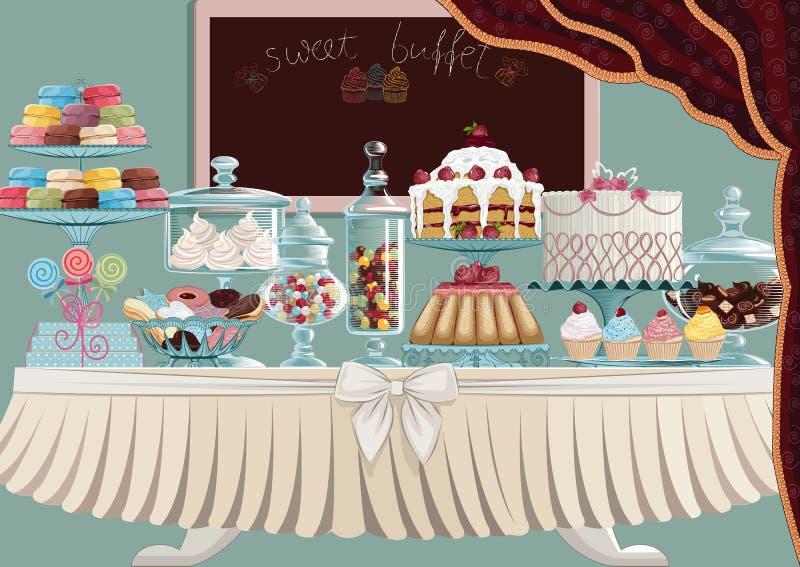 Το γλυκό μεταχειρίζεται ελεύθερη απεικόνιση δικαιώματος