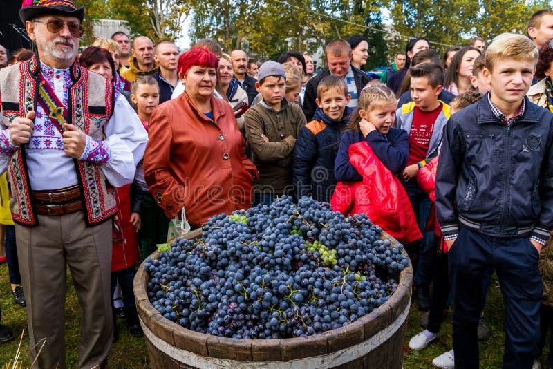 Το δεύτερο εθνικό φεστιβάλ Bobovischenske Grono έγινε σε Zaka στοκ φωτογραφίες με δικαίωμα ελεύθερης χρήσης