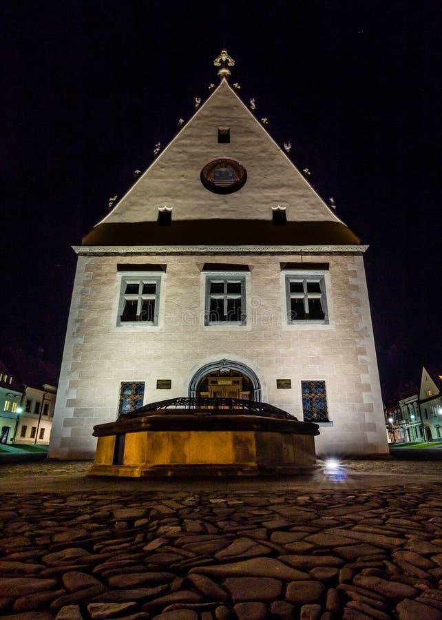 Το Δημαρχείο σε Bardejov στοκ εικόνες με δικαίωμα ελεύθερης χρήσης