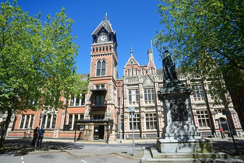 Το Δημαρχείο, Burton επάνω στο Trent στοκ φωτογραφίες