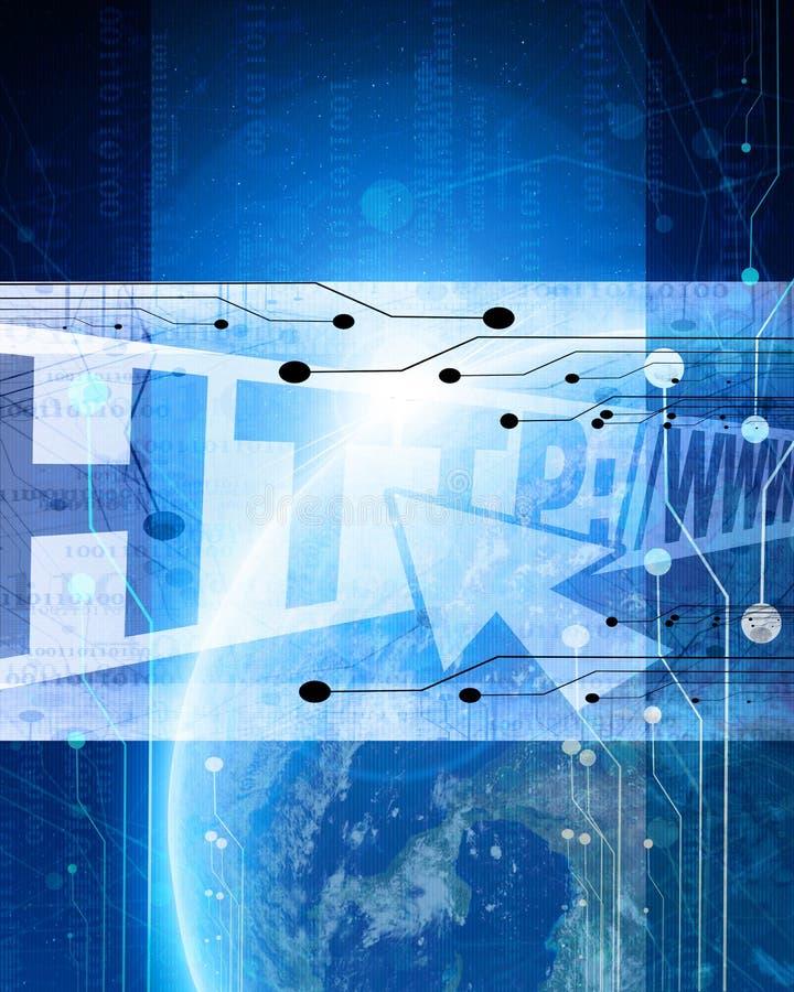 Το Διαδίκτυο ελεύθερη απεικόνιση δικαιώματος