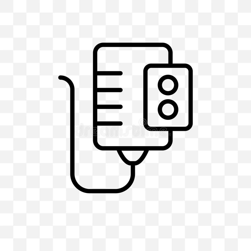 Το διανυσματικό γραμμικό εικονίδιο θερμοσιφώνων που απομονώνεται στο διαφανές υπόβαθρο, έννοια διαφάνειας θερμοσιφώνων μπορεί να  διανυσματική απεικόνιση