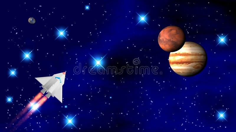 Το διαστημικό λεωφορείο στοκ φωτογραφία με δικαίωμα ελεύθερης χρήσης