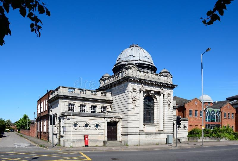 Το δικαστήριο δικαστών, Burton επάνω στο Trent στοκ εικόνα με δικαίωμα ελεύθερης χρήσης