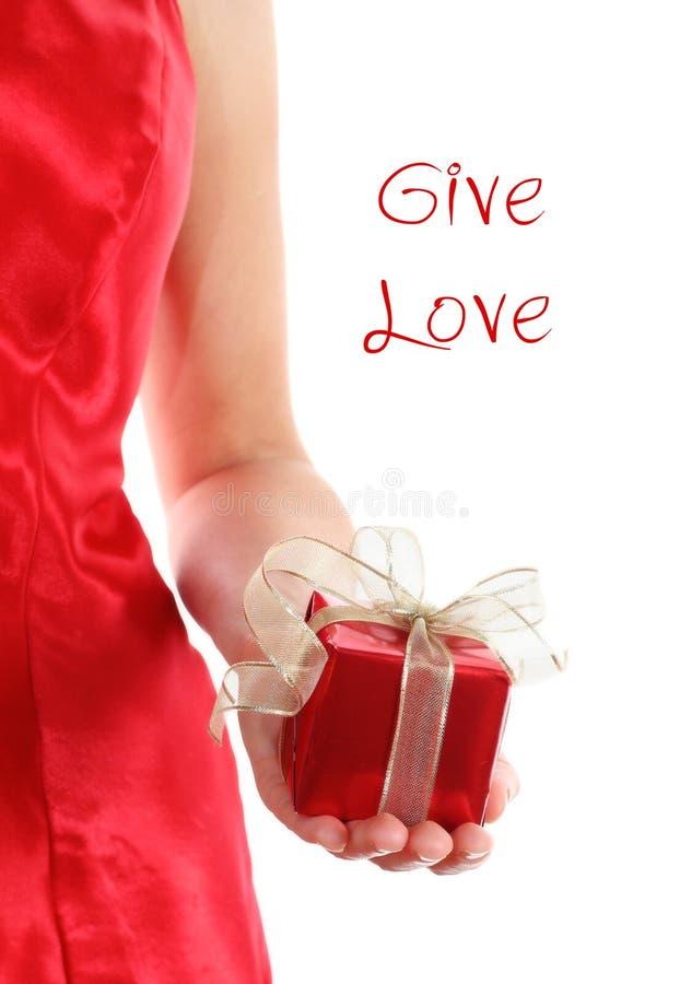 το δώρο κιβωτίων δίνει την &kapp στοκ εικόνες